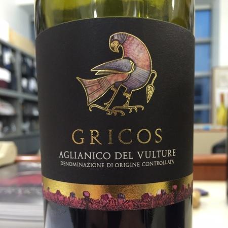 Grifalco di Lucania Gricos Aglianico del Vulture  2014