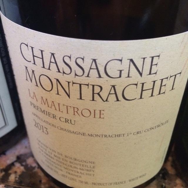 Les Caillerets Chassagne-Montrachet 1er Cru Chardonnay 2013