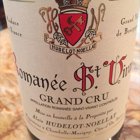 Alain Hudelot-Noellat Romanée St. Vivant Grand Cru Pinot Noir 2014