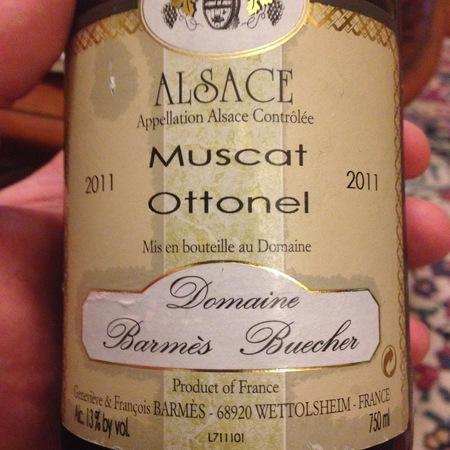 Domaine Barmes-Buecher Muscat Ottonel 2001