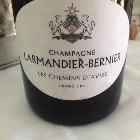 Larmandier-Bernier Les Chemins D'Avize Millésime Grand Cru Extra Brut Blanc de Blancs Champagne  2010
