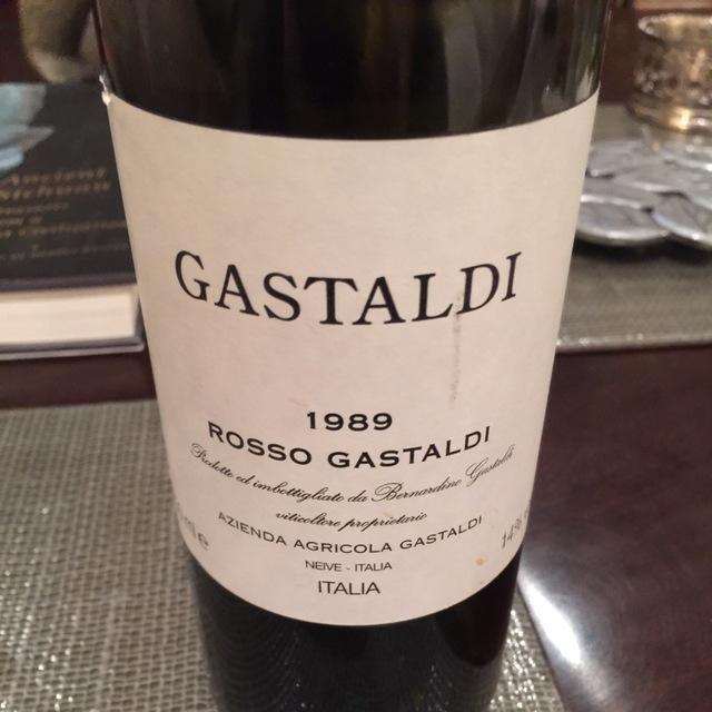 Rosso Gastaldi Grenache Nebbiolo 1988