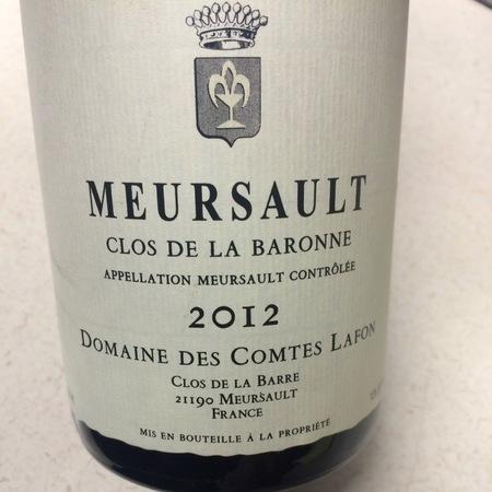 Domaine des Comtes Lafon Clos de la Baronne Meursault Chardonnay 2014