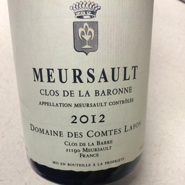 Clos de la Baronne Meursault Chardonnay 2013