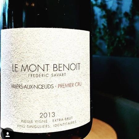 Frédéric Savart Le Mont Benoit Villers Aux Noeuds Vieilles Vignes Extra Brut White Blend NV