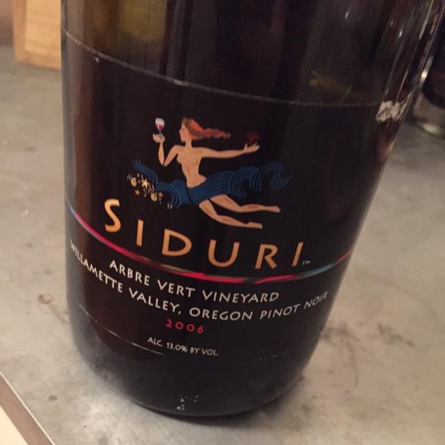 Arbre Vert Vineyard Pinot Noir 2006