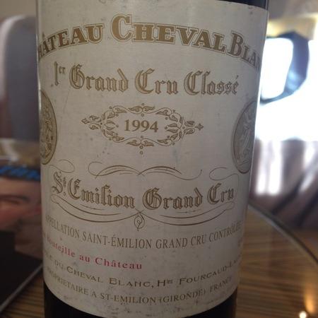 Château Cheval Blanc St. Émilion Red Bordeaux Blend 1994