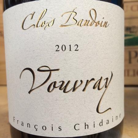 François Chidaine Clos Baudoin Vouvray Chenin Blanc 2012