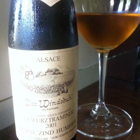 Domaine Zind Humbrecht Clos Windsbuhl Pinot Gris 2001