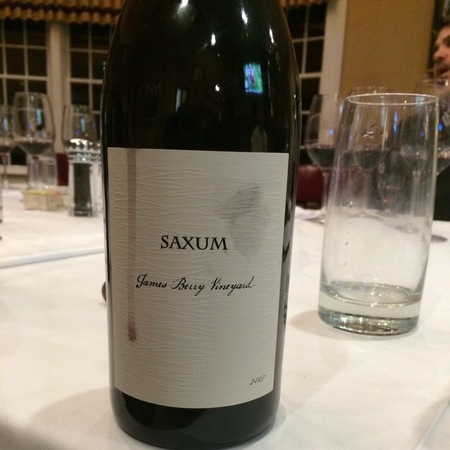 Saxum James Berry Vineyard Red Rhône Blend 2007