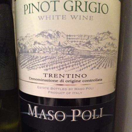Maso Poli Trentino Pinot Grigio 2014