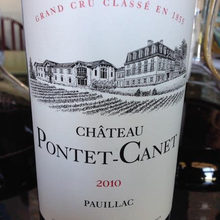 Château Pontet-Canet Pauillac Red Bordeaux Blend 2010 (1500ml)
