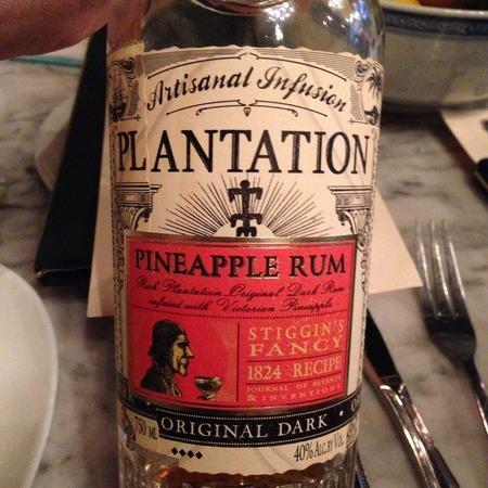 Plantation Stiggin's Fancy Pineapple Rum  NV