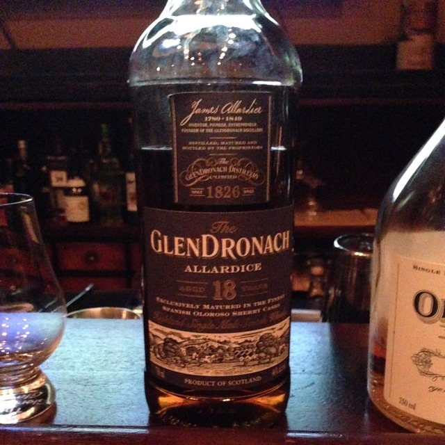 Allardice Aged 18 Years Highland Single Malt Scotch Whisky NV