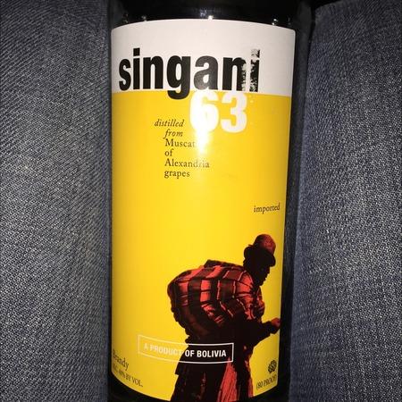 Casa Real Singani 63 Muscat of Alexandria Brandy NV