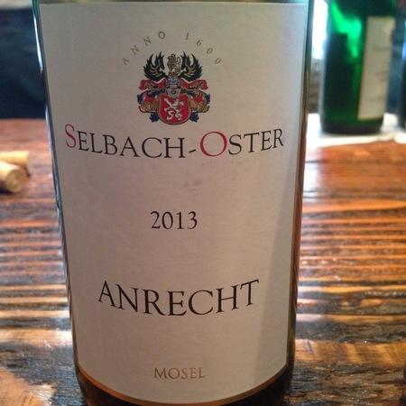 Selbach-Oster Anrecht Zeltinger Himmelreich Riesling 2013