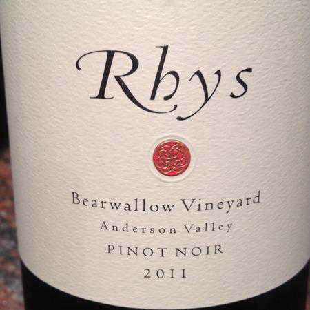 Rhys Vineyards Bearwallow Vineyard Pinot Noir 2011