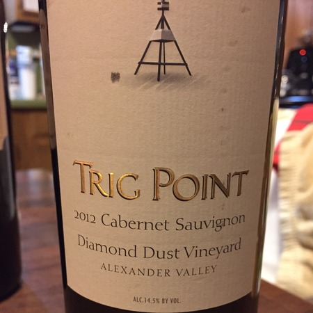 Trig Point Diamond Dust Vineyard Cabernet Sauvignon 2015