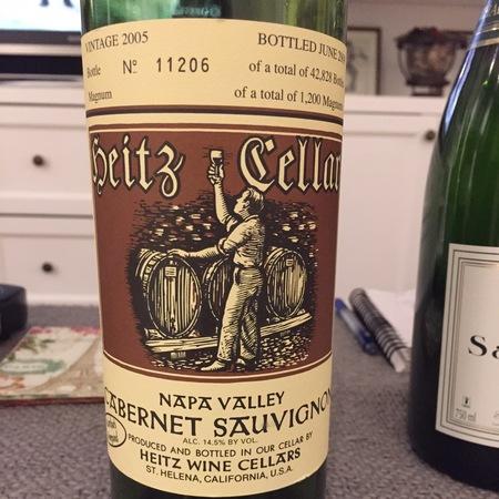 Heitz Cellar Martha's Vineyard Cabernet Sauvignon 2005