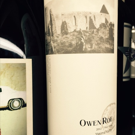 Owen Roe Yakima Valley Red Wine 2013
