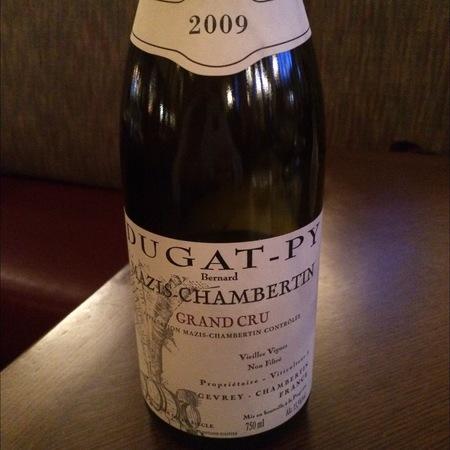 Bernard Dugat-Py Mazis-Chambertin Grand Cru Pinot Noir 2009