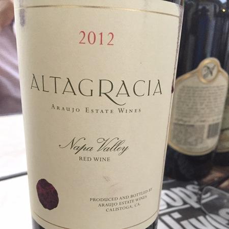 Araujo Estate Altagracia Napa Valley Cabernet Sauvignon Blend 2012