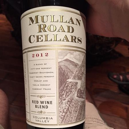 Mullan Road Cellars Columbia Valley Red Blend 2014