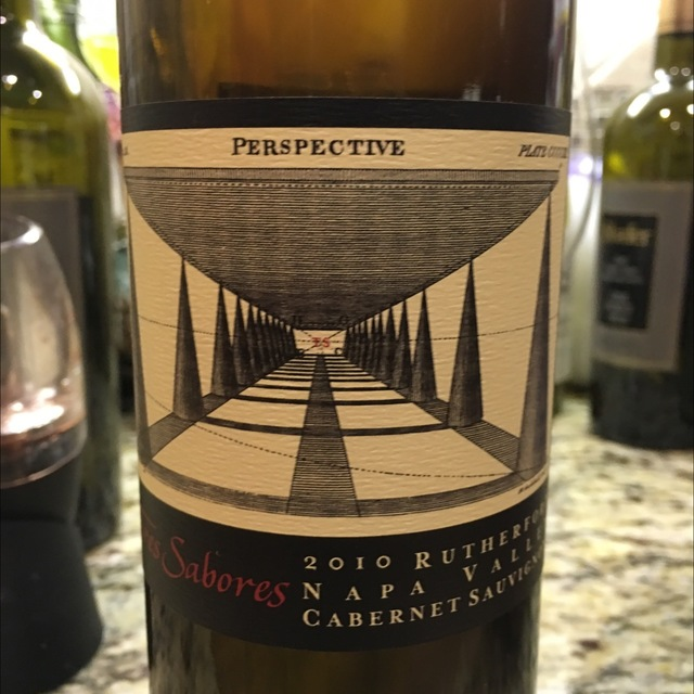 Perspective Rutherford Cabernet Sauvignon 2010