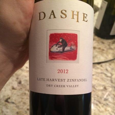 Dashe Cellars Late Harvest Zinfandel 2014
