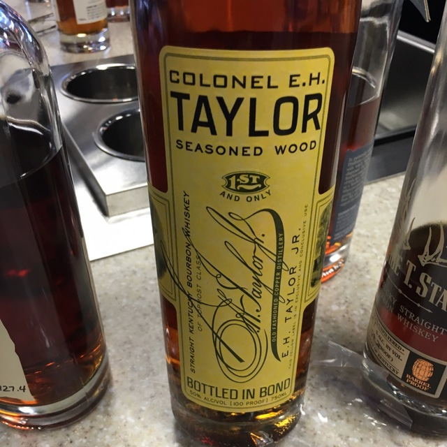 Seasoned Wood Straight Kentucky Bourbon Whiskey NV