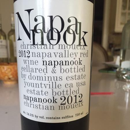 Dominus Estate Napanook Napa Valley Cabernet Sauvignon Blend 2012