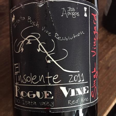 Rogue Vine El Insolente Los Amigos Carignan 2011