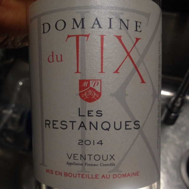 Les Restanques Ventoux Rosé Blend 2015 (750ml 12bottle)