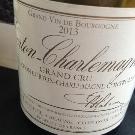 Louis Latour Corton-Charlemagne Grand Cru Chardonnay 2013 (375ml)
