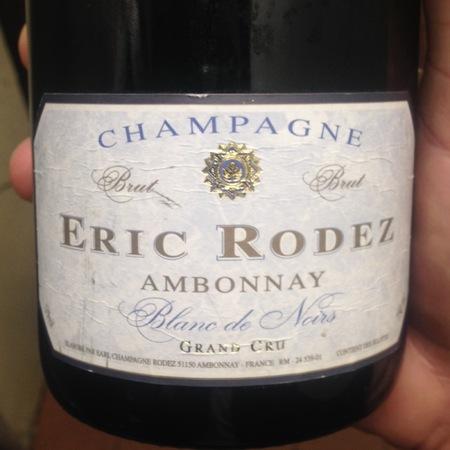 Eric Rodez Brut Grand Cru Champagne Blanc de Noirs NV