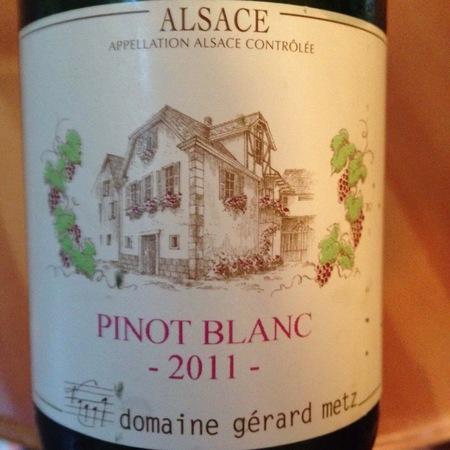 Domaine Gerard Metz Pinot Blanc 2014
