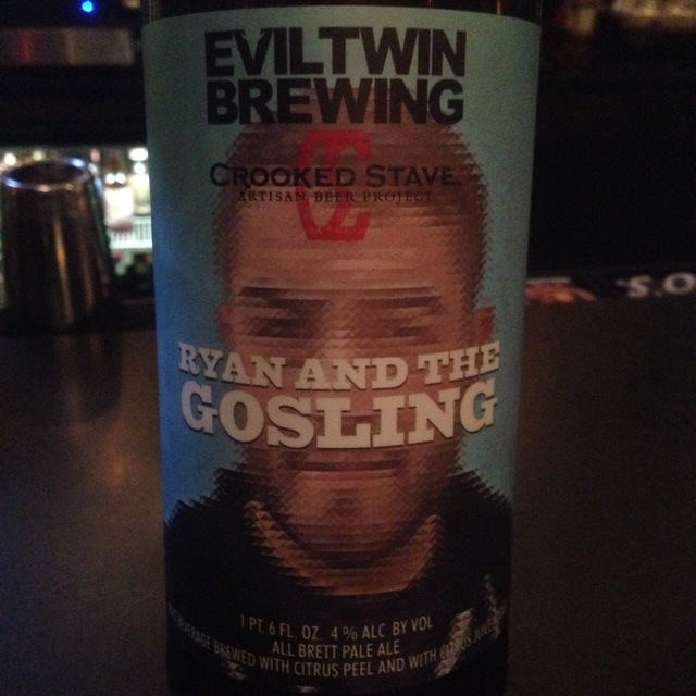 Ryan and the Gosling Pale Ale NV