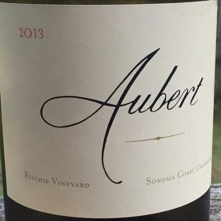 Aubert Ritchie Vineyard Chardonnay 2013