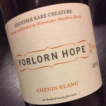 Forlorn Hope Chenin Blanc  NV