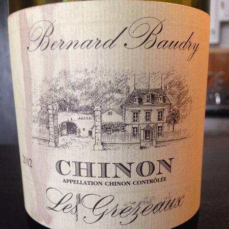 Domaine Bernard Baudry Les Grézeaux Chinon Cabernet Franc 2015