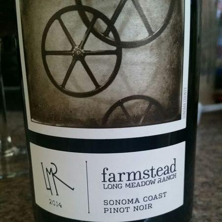 Long Meadow Ranch Farmstead Sonoma Coast Pinot Noir 2014