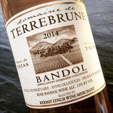 Domaine de Terrebrune  Bandol Mourvedre Blend Rosé 2014