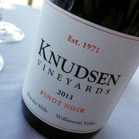 Knudsen Vineyards Dundee Hills Pinot Noir 2013