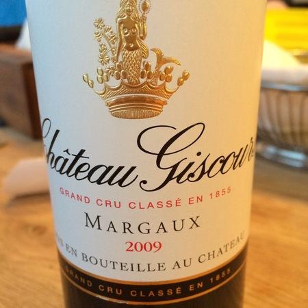Château Giscours Margaux Red Bordeaux Blend 2009