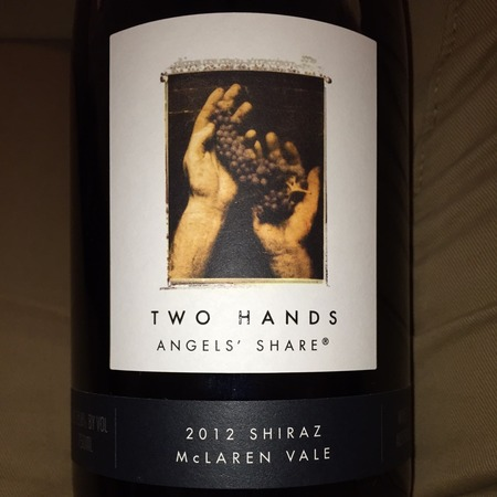 Two Hands Angels' Share McLaren Vale Shiraz 2015