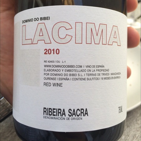 Dominio do Bibei Lacima Ribeira Sacra Red Blend 2010