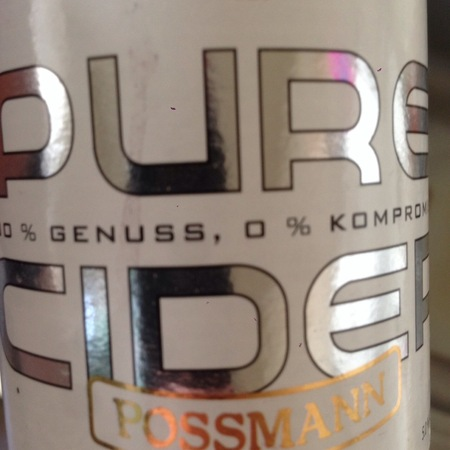 Possmann Pure Cider NV