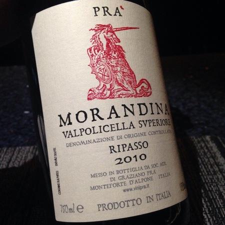 Graziano Prà Morandina Valpolicella Ripasso Superiore Corvina Blend 2015