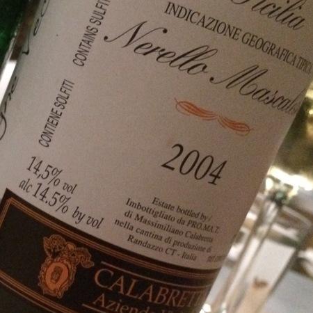 Calabretta Vecchie Vigne Sicilia Nerello Mascalese 2006