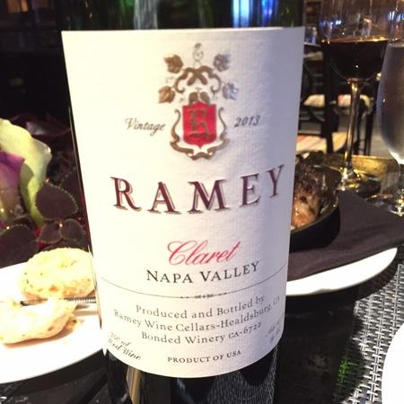 Ramey Wine Cellars Napa Valley Cabernet Sauvignon 2013